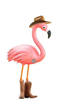 danny the flamingo