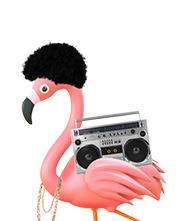reggie the flamingo